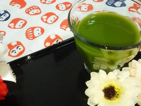 抹茶を楽しむ☆抹茶日本酒