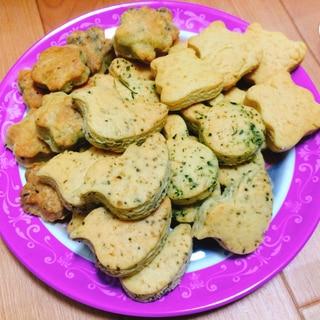 バターなし☆ざくざく卵クッキー
