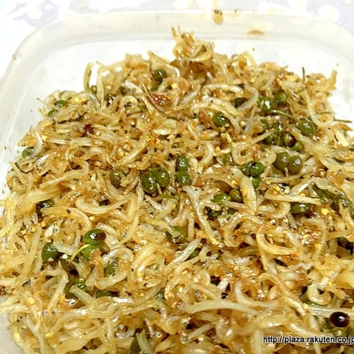ご飯がすすむ ちりめん山椒の作り方