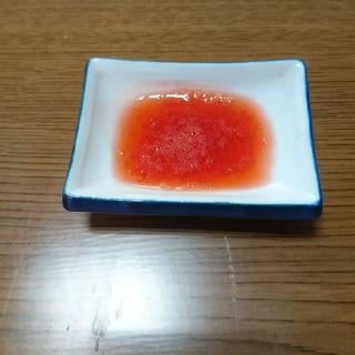 離乳食初期or離乳食中期 苺 デザート