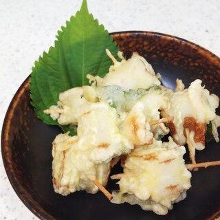 ちくわと大葉の天ぷら