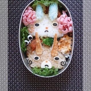 キャラ弁★妖怪ウォッチ コマさん&コマジロウ