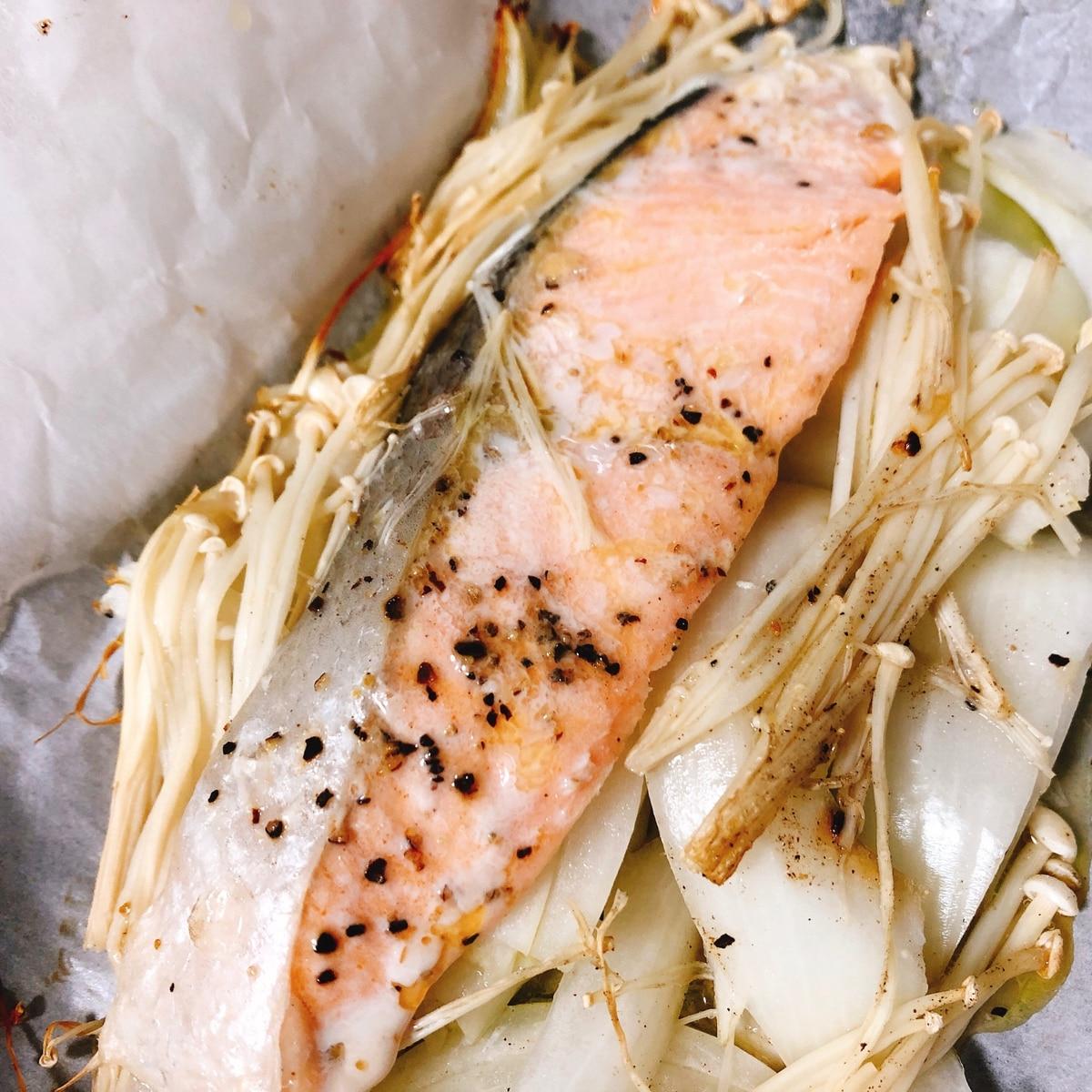 焼き ホイル オーブン の 鮭