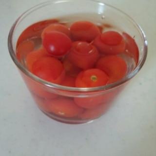 さっぱり☆ミニトマトのビネガー(甘酢)漬け