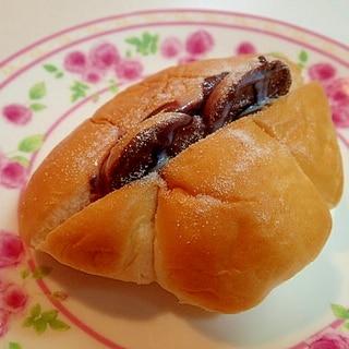 チョコクッキーINクリームパン