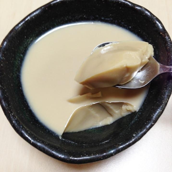 ほうじ茶ミルクゼリー