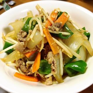 男子の胃袋をシゲキ★☆スタミナ風肉野菜炒め☆★