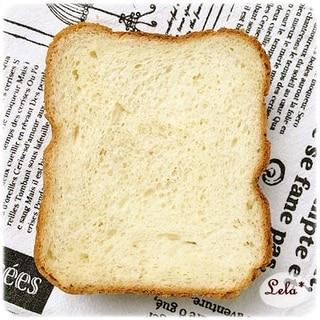 米粉ブレンドのハチミツ食パン@ホームベーカリー