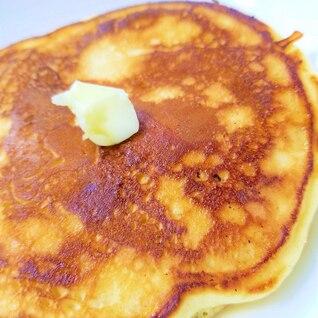 HMいらず・小麦粉からホットケーキとレンジシロップ