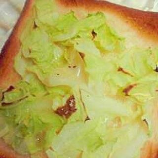 キャベツトースト