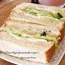 ポテトサラダのミニサンドイッチ