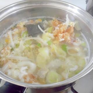 韓国風 干し鱈のスープ