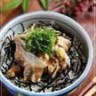 箸が止まらぬ美味しさ♪ 秋刀魚のごまだれ漬け丼