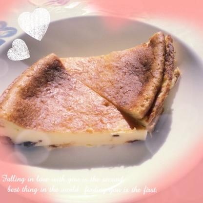 クランベリージャムを入れて♫とても簡単に美味しく出来ました♡レシピありがとうございました(*˙︶˙*)☆*°