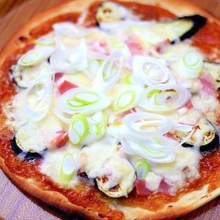 肉みそ和風ピザ