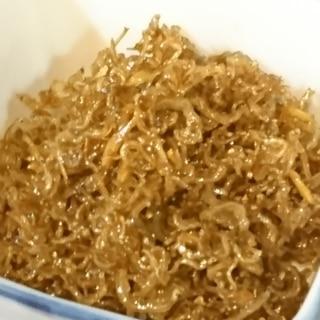 粉山椒で作るから簡単!自家製のちりめん山椒