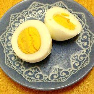 炊飯のついでに♪ゆで卵