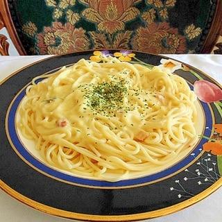 スパゲティーの早ゆで方法とカルボナーラ