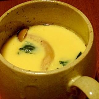 しめじと鶏肉の簡単★茶碗蒸し 圧力鍋で!
