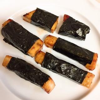 カジキマグロの磯辺焼き★お弁当に♪
