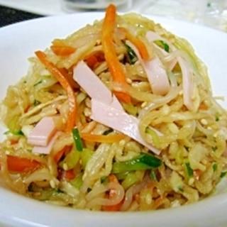 給食の味!切干大根のサラダ