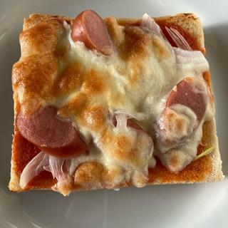 簡単♪ケチャップでピザトースト