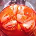 *混ぜるだけなのにくせになるトマトの甘酢漬け*