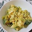 ブロッコリーと茹で卵の和えもの