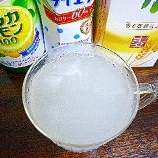 アイス♡レモンカルピス酒