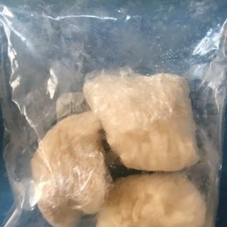 離乳食後期  うどんの冷凍保存
