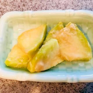 摘果メロンの味噌漬け