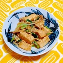 焼き肉のタレで小松菜ともやしのチャンプルー