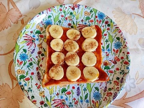 カヤジャム&バナナトースト