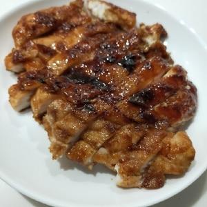 鶏胸肉で節約!がっつりてりやきチキン♡