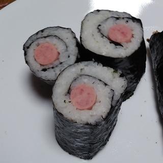 魚ソーセージ海苔巻き