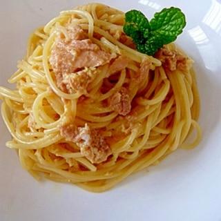 卵とツナで★簡単パスタ