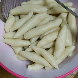 コストコ マッシュポテトの素でポテトニョッキ