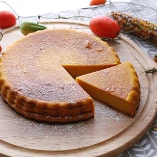 セラベイクで、混ぜて焼くだけかぼちゃのチーズケーキ