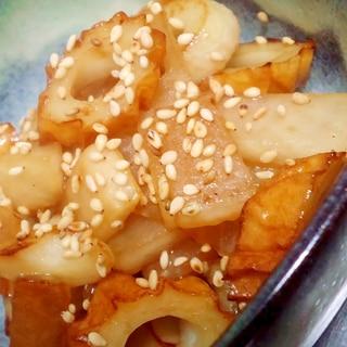 簡単副菜 大根とちくわの炒め煮