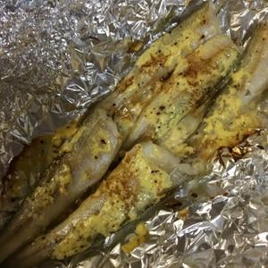 トースターで簡単きすのマヨにんにく風味焼き