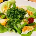 タイの目玉焼きサラダ ヤムカイダーオ