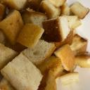 蜂蜜ときび砂糖のパン耳ラスク