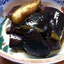 ピリ辛茄子の田舎煮