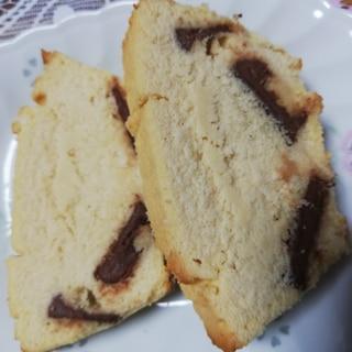 生クリームとおからパウダーでチョコパウンドケーキ