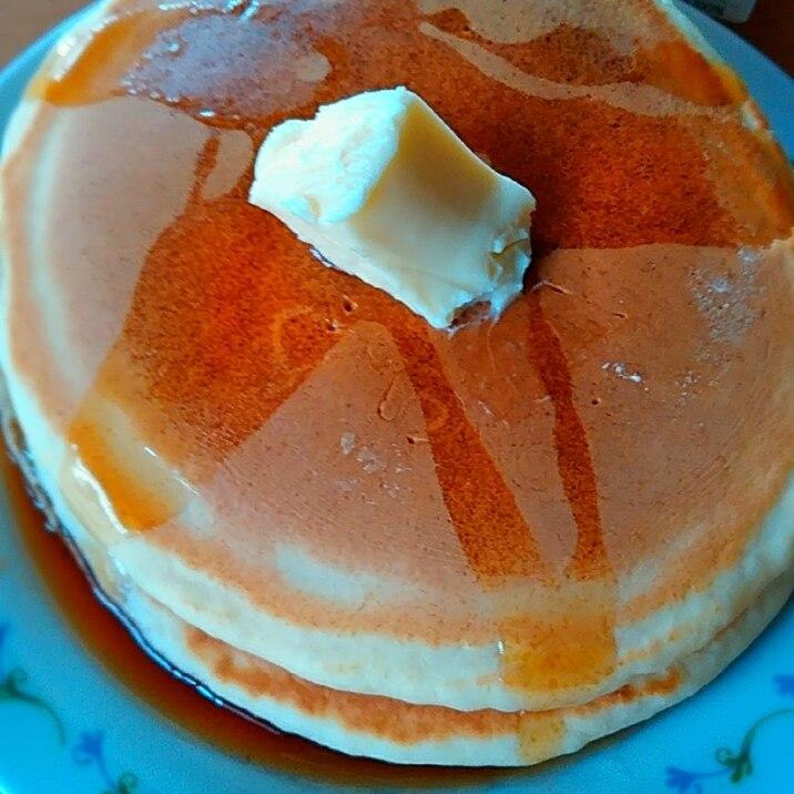 HMと米粉のホットケーキ