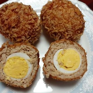 うずら卵のスコッチエッグ♪