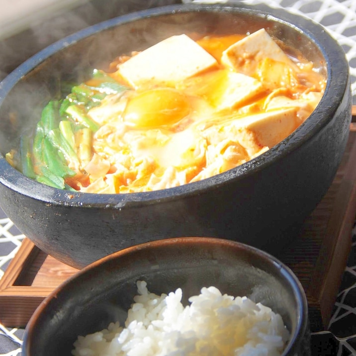 超手抜き『純豆腐(スンドゥブ)』