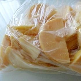 たけのこ冷凍保存方法