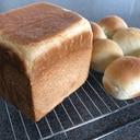 HBで!ミルクたっぷり食パンとちぎりパン