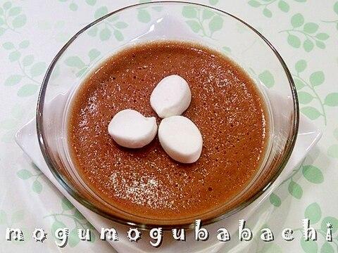 マシュマロで簡単に作る☆チョコふわムース